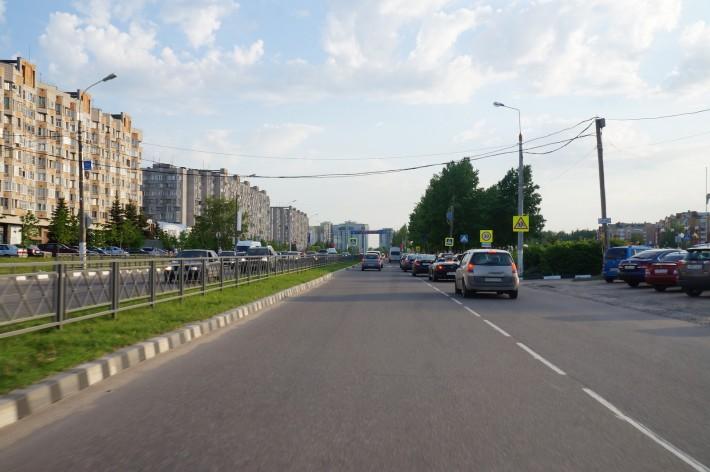 Центральная улица - проспект Маркса