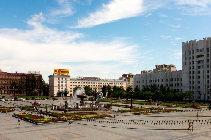 Площадь имени Ленина