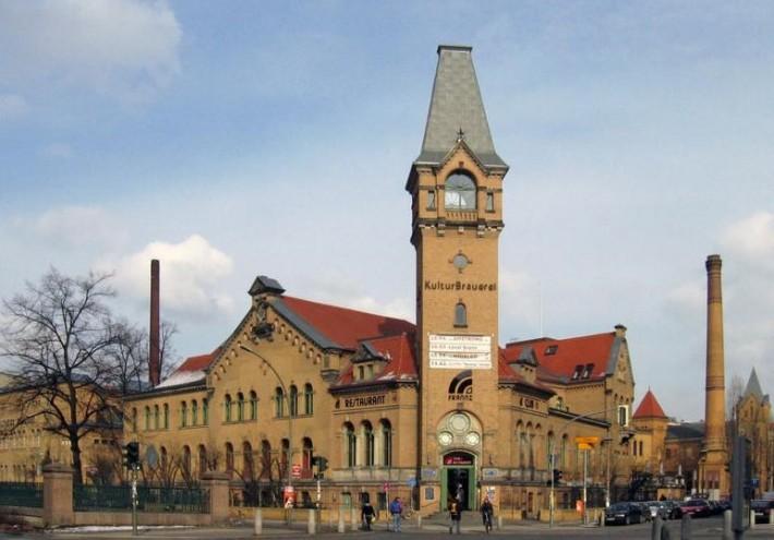 Типичный развлекательный центр – бывшая пивоварня