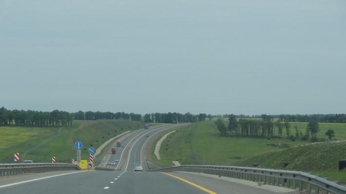 Едем обратно в Москву через Ростовскую область