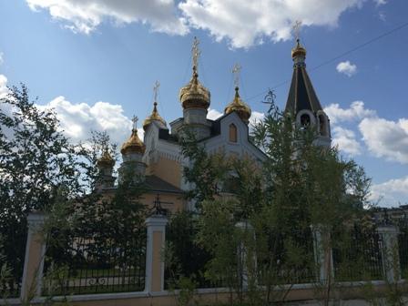 Одна из церквей