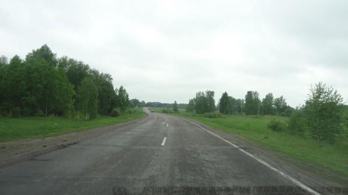 Между Томском и Новосибирском. Наши дороги