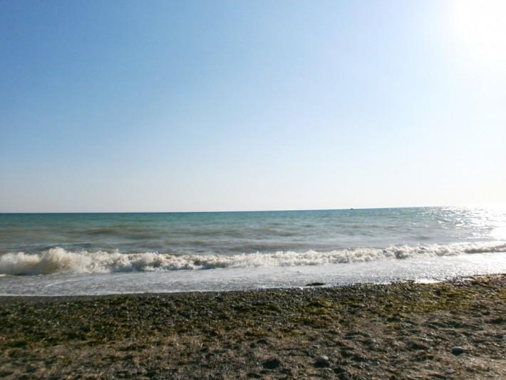 Крым, Саки, море