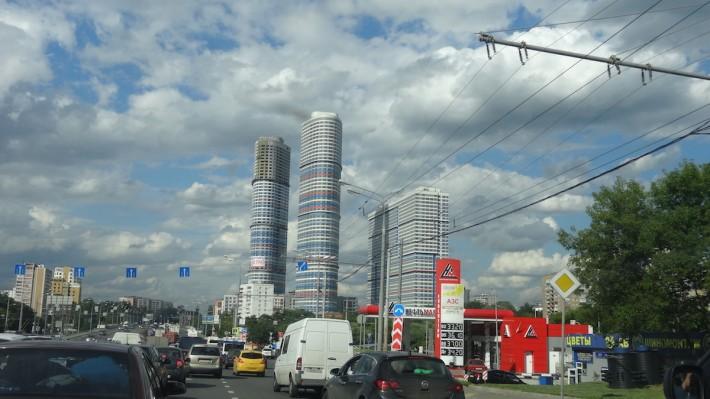 Улицы Москвы