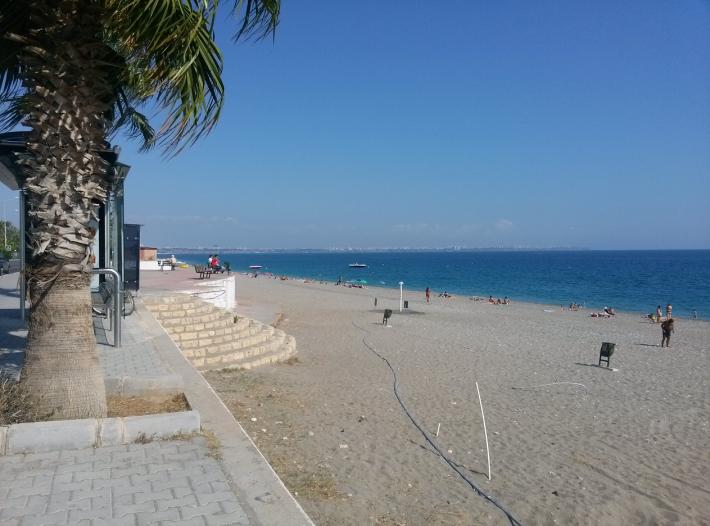 Наш любимый пляж в Анталье
