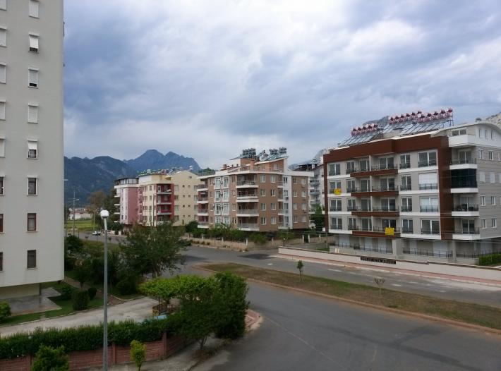 Вид с нашего дома на окраину города