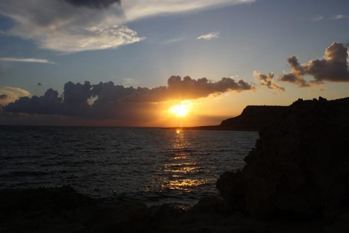 Закат на мысе Греко