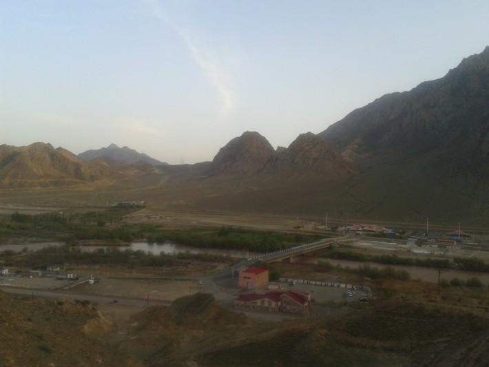 Таможня на ирано-армянской границе