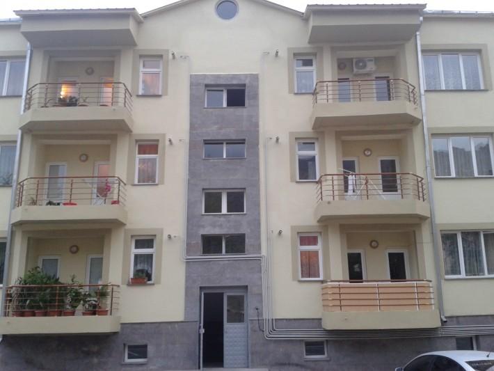 Новый жилой дом в г. Агарак. Сдан жильцам в августе 2015 года.