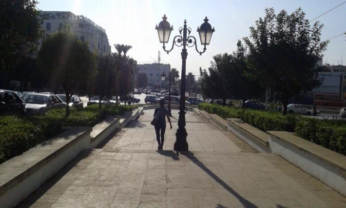 Одна из улиц Рабата