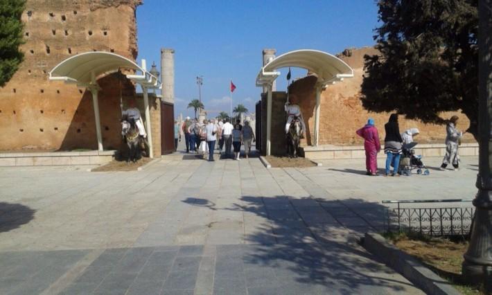 Место захоронения бывших королей Марокко