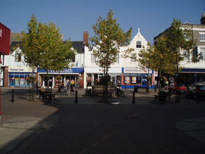 Обычный провинциальный городок в Англии