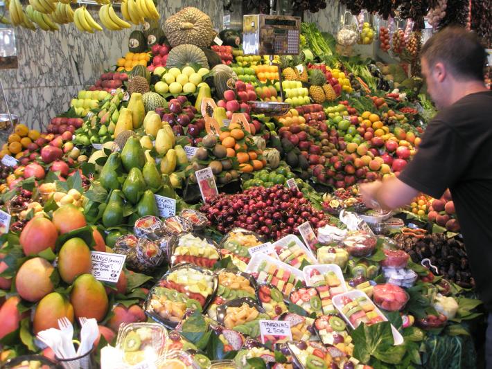 Рынок в Барселоне