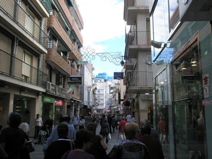 Туристы в Старом городе