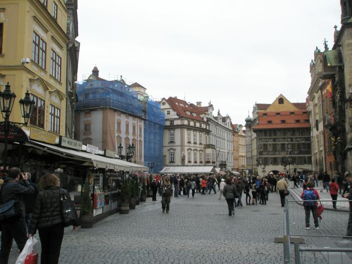 В другую сторону от Вацлавской площади