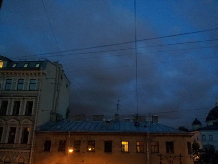 Вид на Кирочную улицу