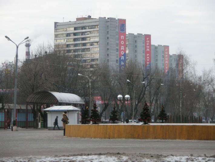 Начало центральной улицы города - Большой Серпуховской