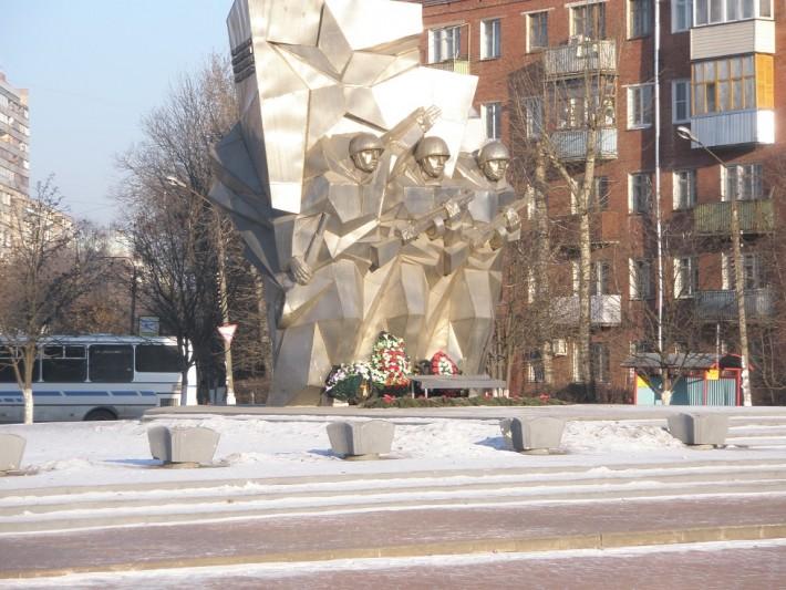 Памятник бойцам-победителям