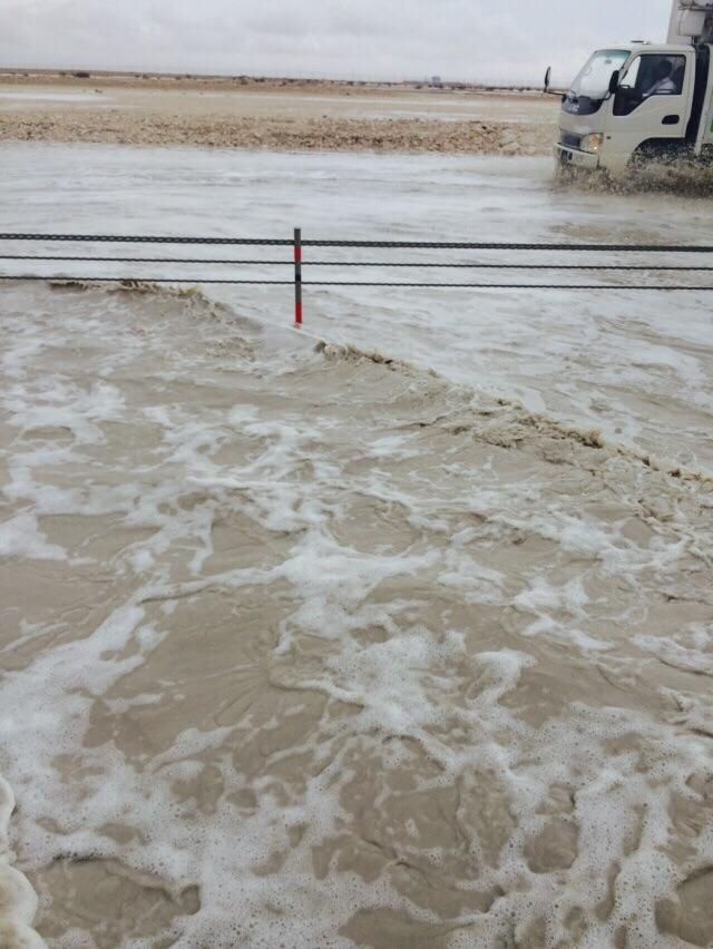 Наводнение в пустыне