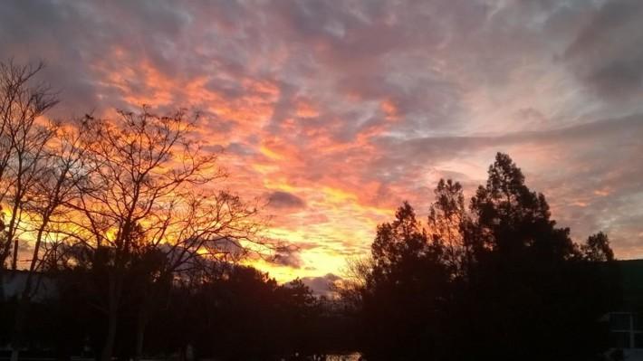Закаты просто необыкновенные