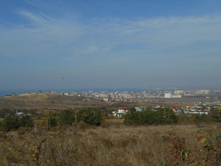Анапа. Вид с горы из Су-Псеха