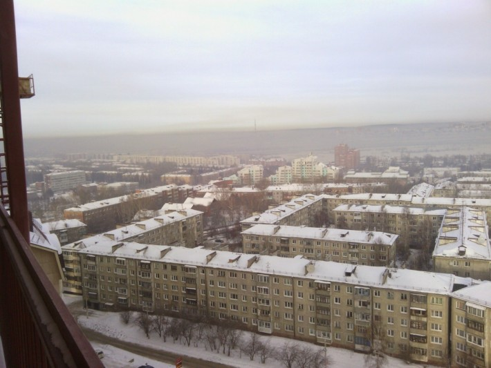 Смог над Иркутском