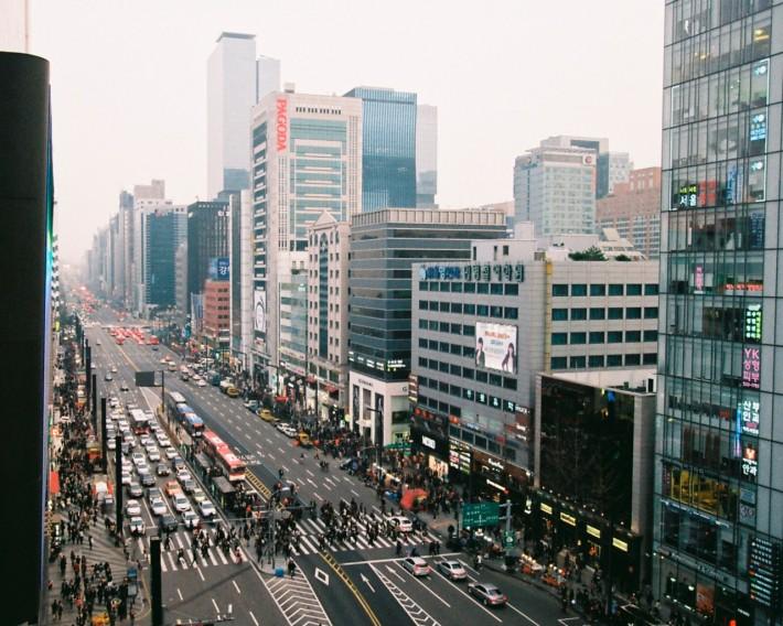 Каннам - деловой центр Сеула