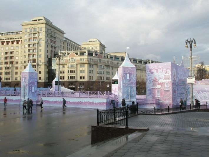 Москва готовится к Новому году