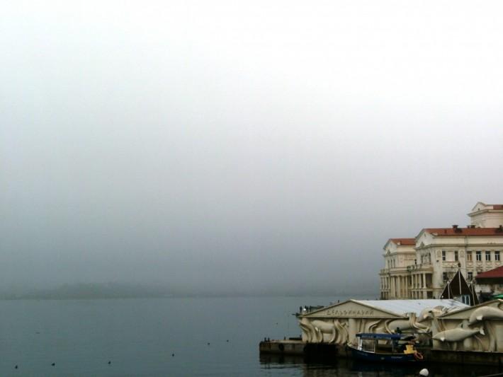 Туманный город