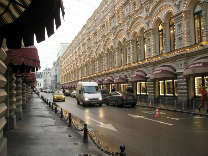 Рядом с Красной площадью, Ветошный переулок