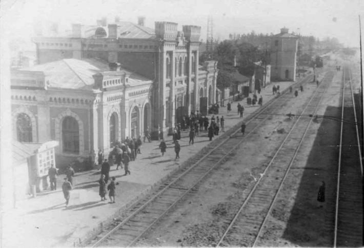 Станция, примерно 1957 г.