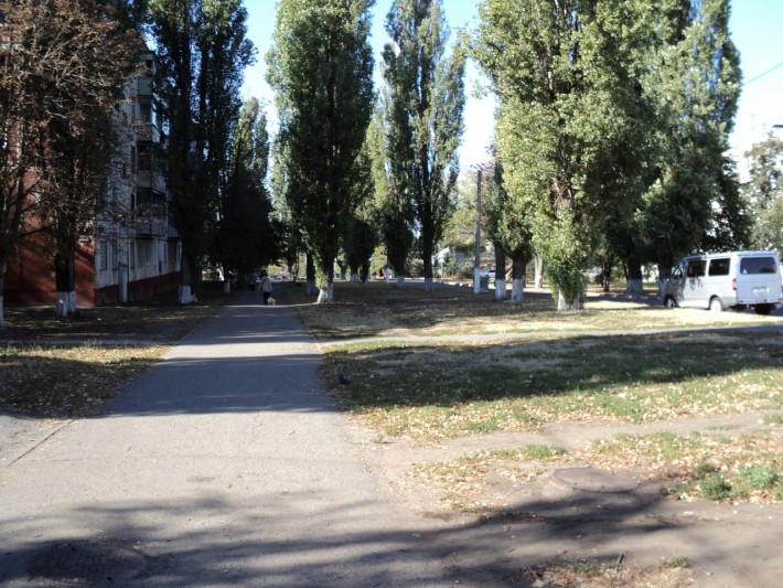 """Старый район """"Гриневка"""" На мой взгляд, самый уютный район"""