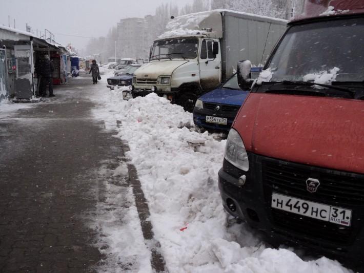 """Пример такого """"краткого"""" снегопада. Явление это было раз за два года"""