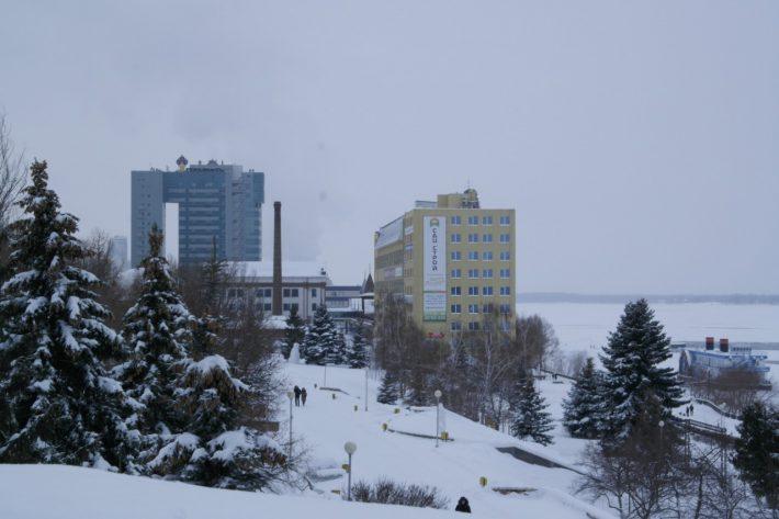 Зима в Самаре