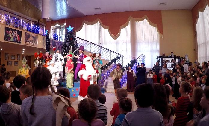 Новогоднее представление в кукольном театре
