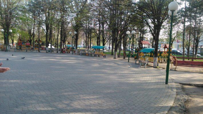 Общественная детская площадка