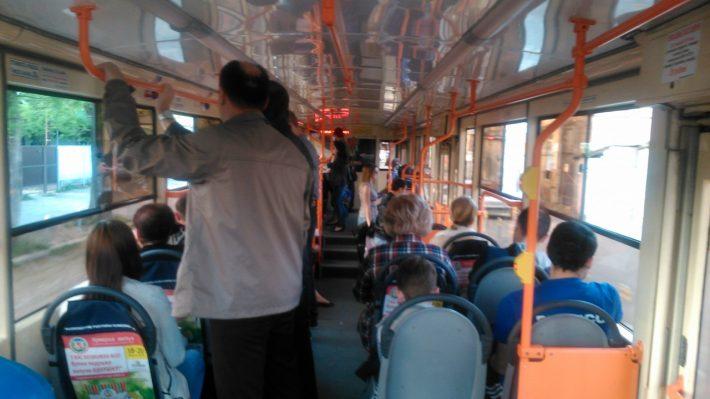 Так выглядит большинство общественного транспорта в Краснодаре