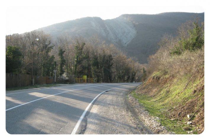 По дороге из Геленджика в Адербиевку