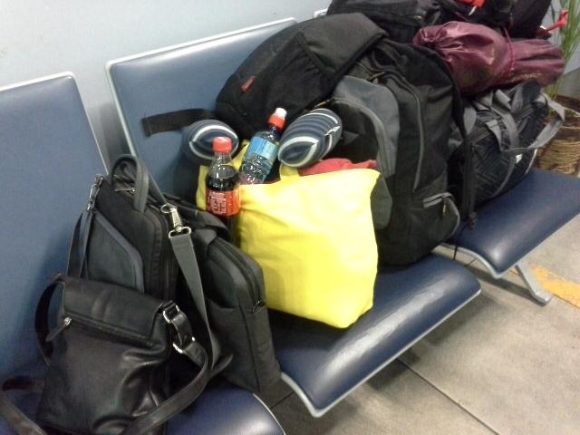 И еще багаж