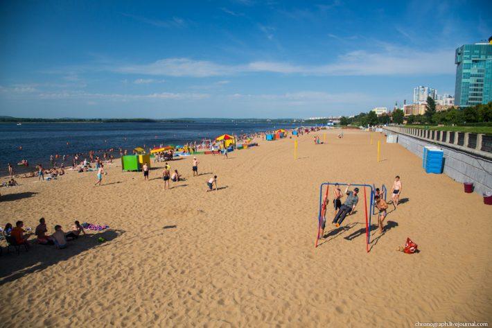 Самарский городской пляж