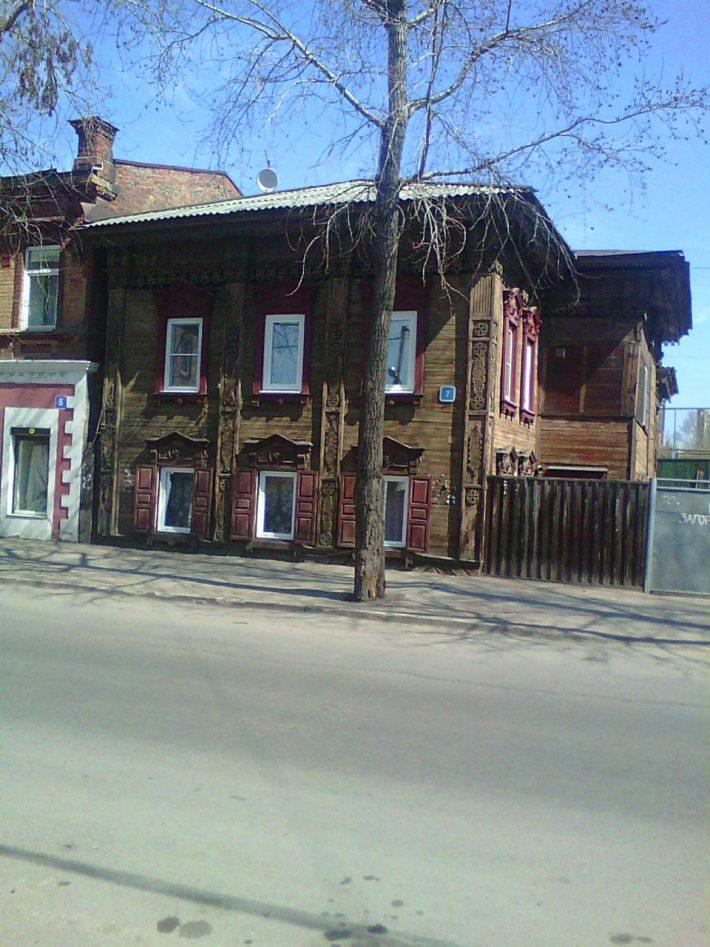 Жилой дом в центре Иркутска