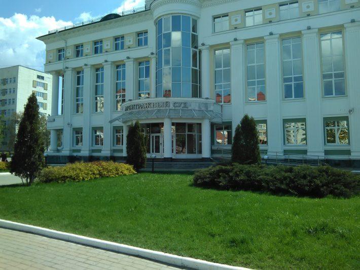 Сталинские дома органично вписаны в городской ландшафт
