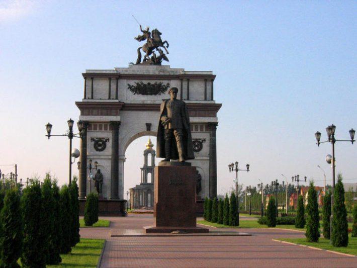 Проспект победы. Триумфальная арка
