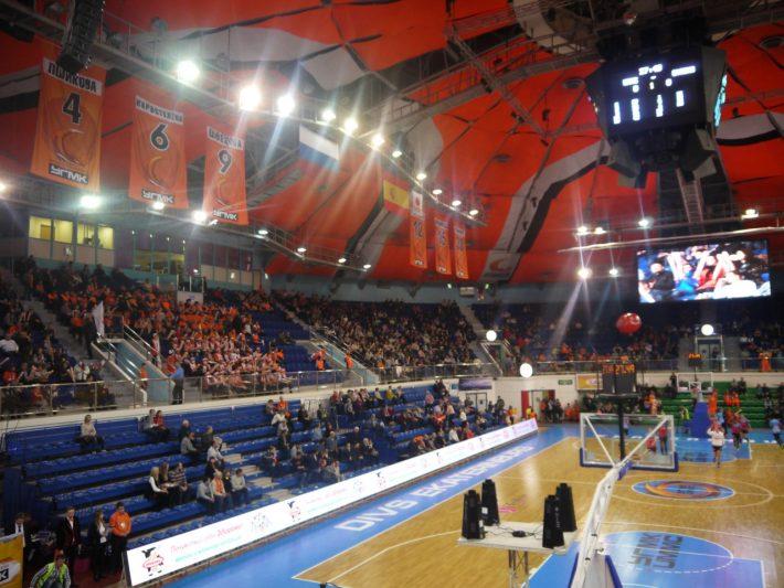 Замечательный дворец спорта ДИВС