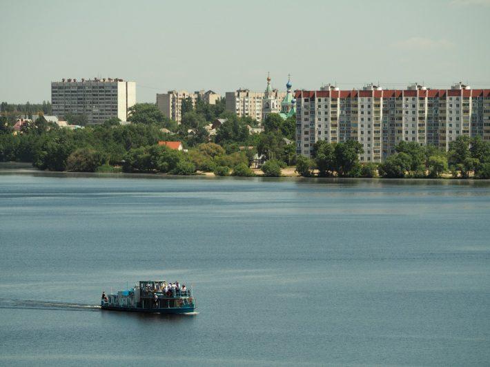 Водохранилище. Воронеж.