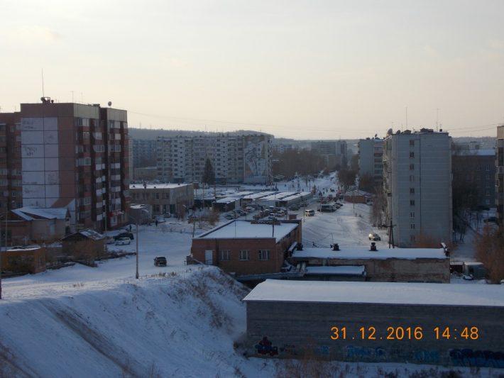 Вид на 45 квартал Гидростроителя со стороны Отопительного завода