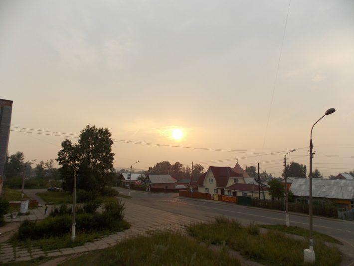 Улица Енисейская в Гидростроителе