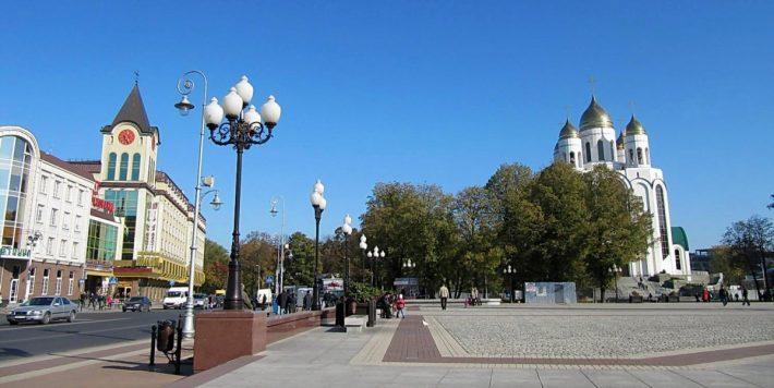 Площадь Победы. Центральная площадь города