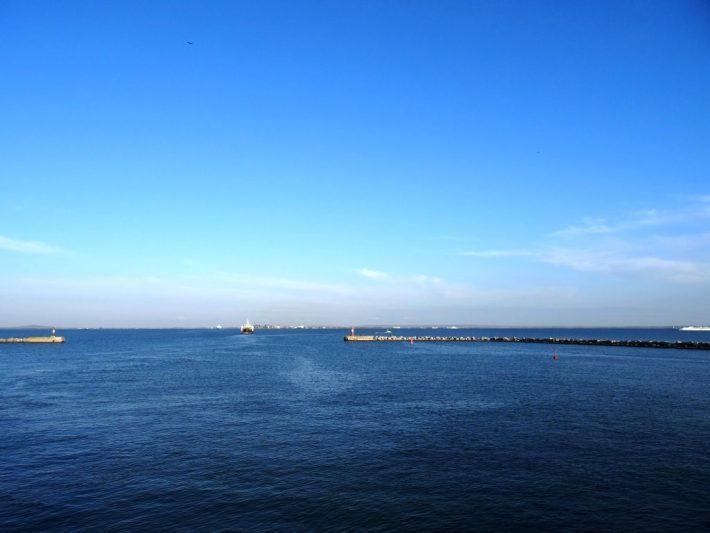 Выходим из порта Крым