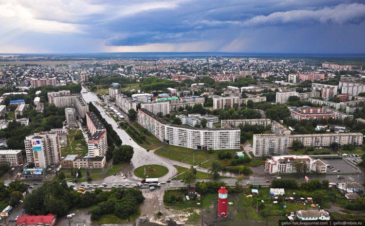 Пересечение улиц Вокзальной и Горького